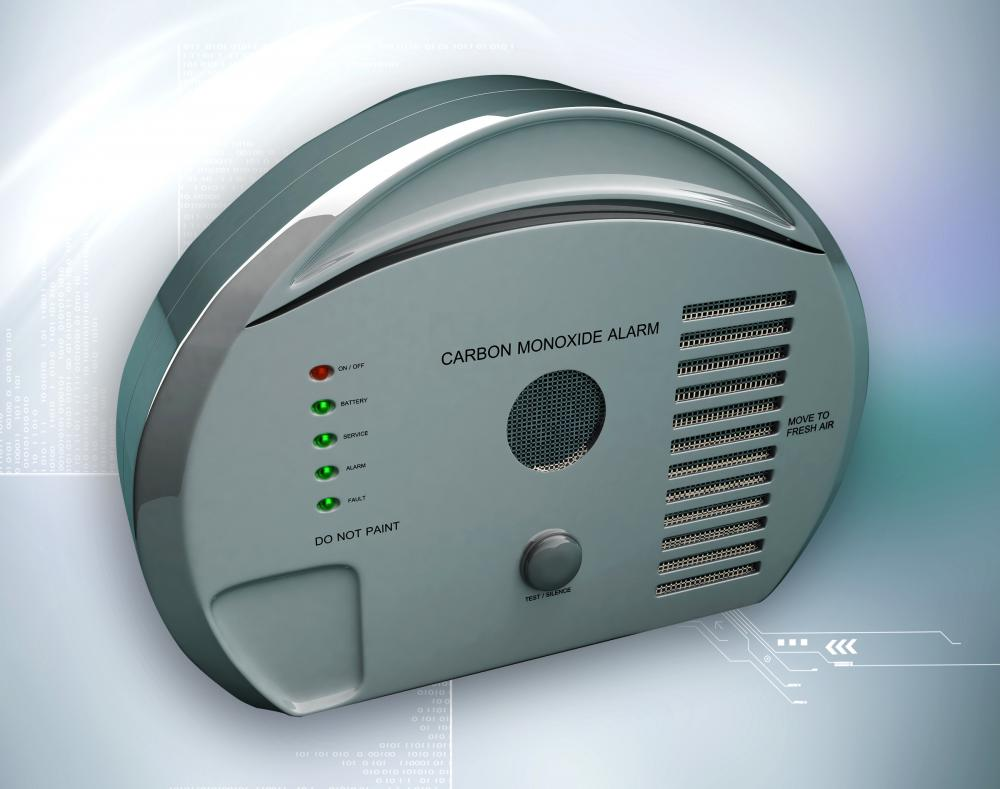 Single-gas detectors may register the toxic gas carbon monoxide.
