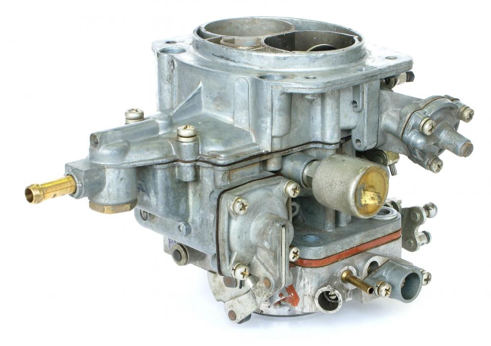 High-rise intake manifolds are sometimes used on large engines with manual carburetor systems.