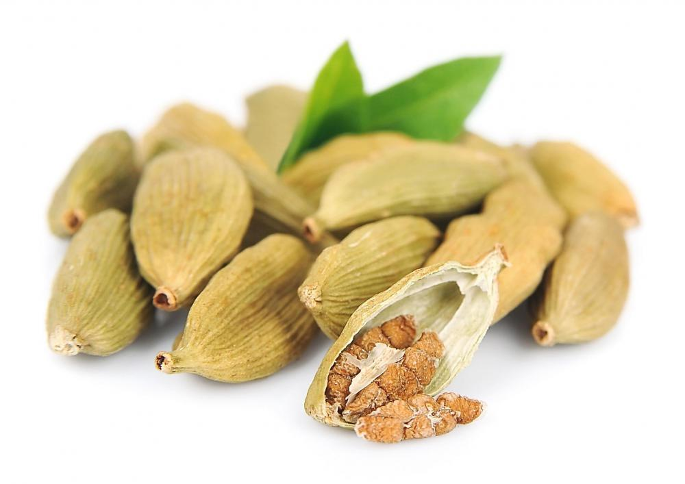 Cardamom is typically used in mrouzia.