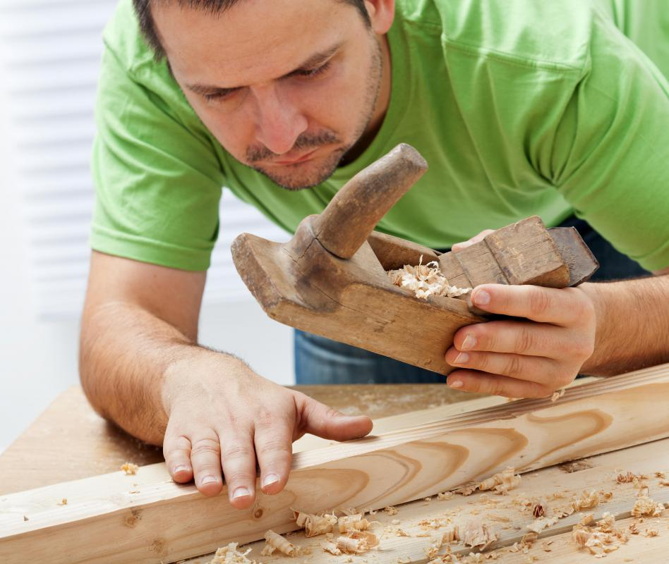 Hand planers allow wood workers to manually shave down and smooth the surface of wood.