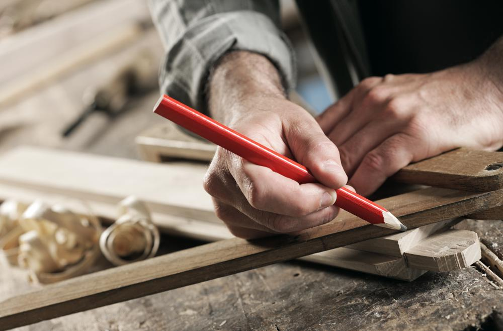 Carpentry courses cover the woodworking skills necessary for construction.