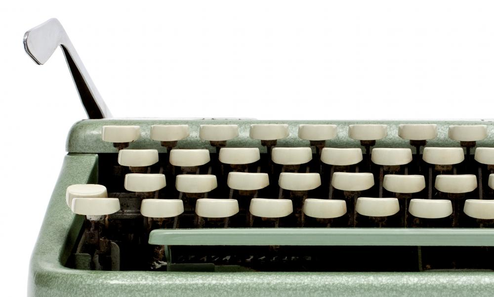 Carriage returns were once featured on typewriters to advance pages.