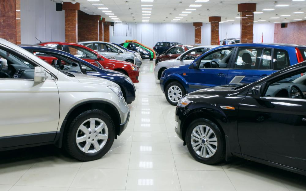 Auto maintenance may be performed at a car dealership.