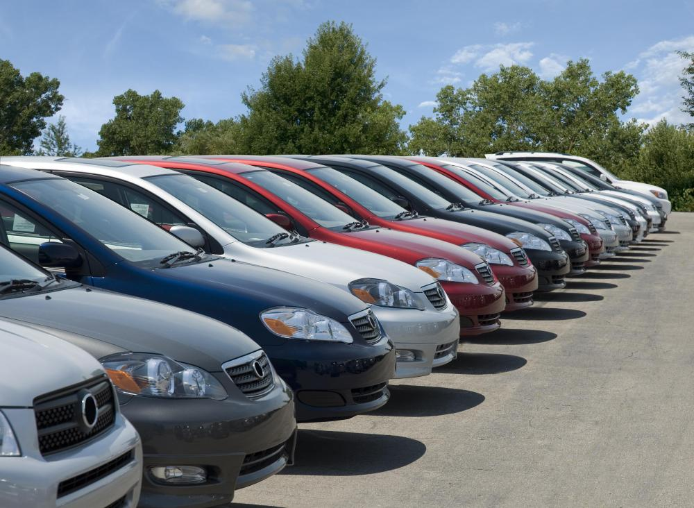 Potential buyers can look over the available cars that are going up for auction before the bidding starts.