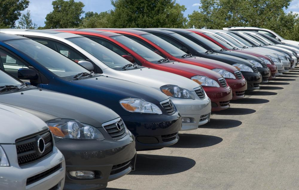 Visiting a used car lot may be a good way to find a used convertible.