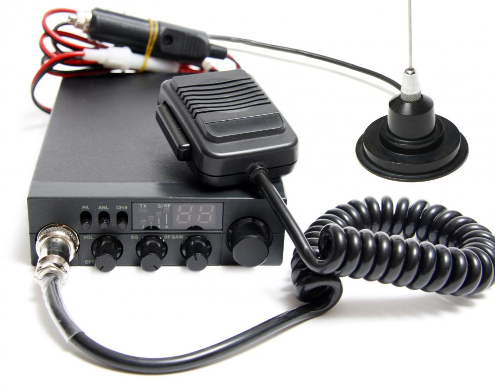 What are the Different CB Radio Frequencies? (with pictures)