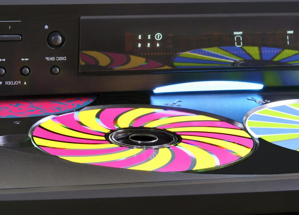 Stereo systems may include multi disc CD changers.