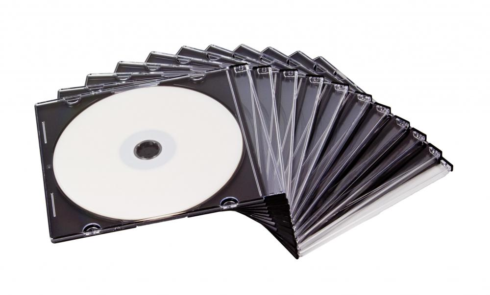Photos can be stored on a compact disc.