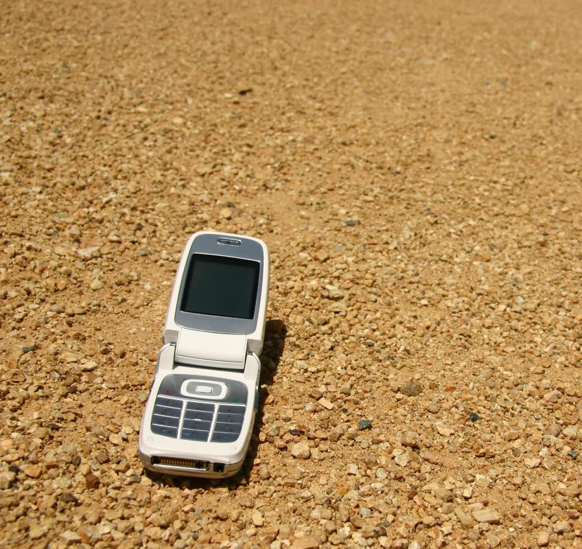 A mobile tracking system might be used to locate a missing phone.