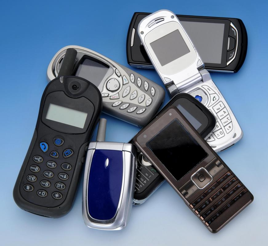 Advances in computer technology allowed cell phones to dramatically shrink in size during the 1990s and into the 2000s.