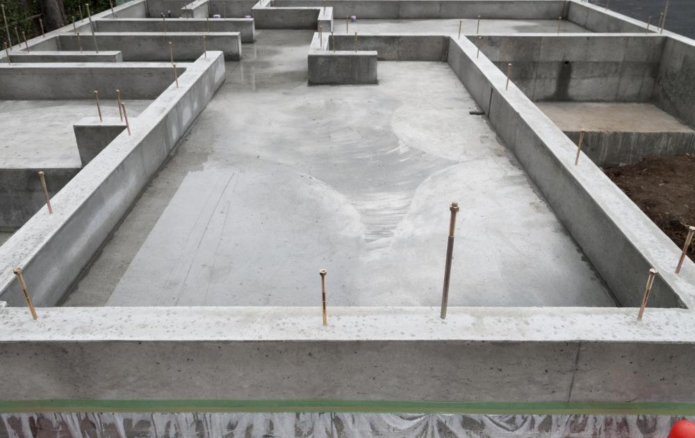 A properly constructed foundation is necessary to ensure the structural integrity of a home.