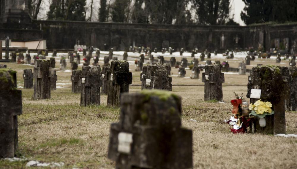 Most cemeteries in developing nations are green by default due to burial traditions.