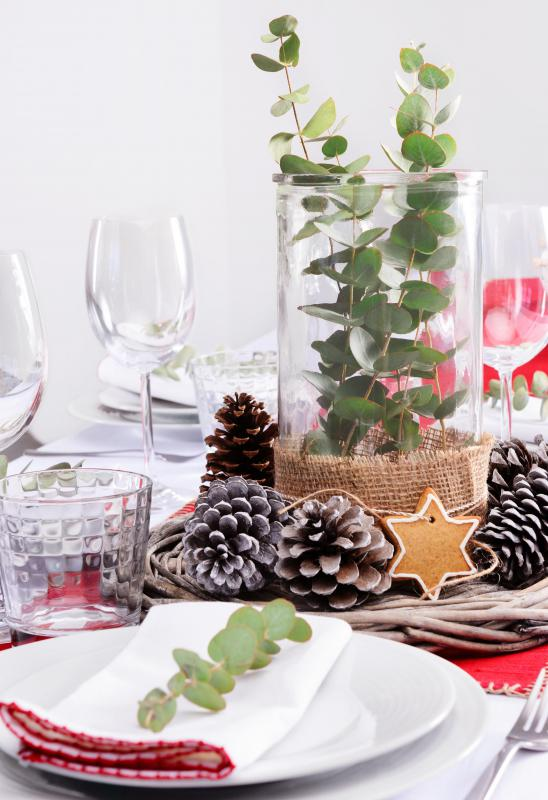 Centerpieces are often tailored to a specific season or occasion.