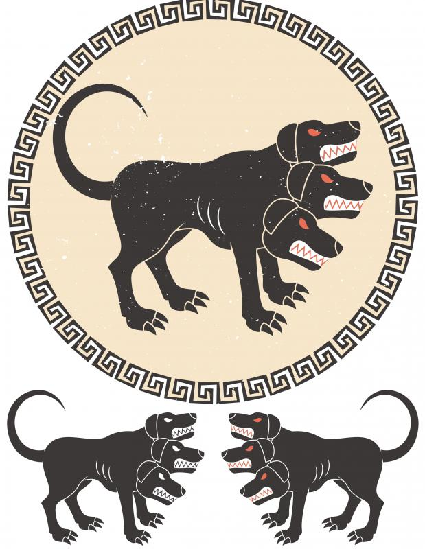 In Greek Mythology Who Is Cerberus With Pictures