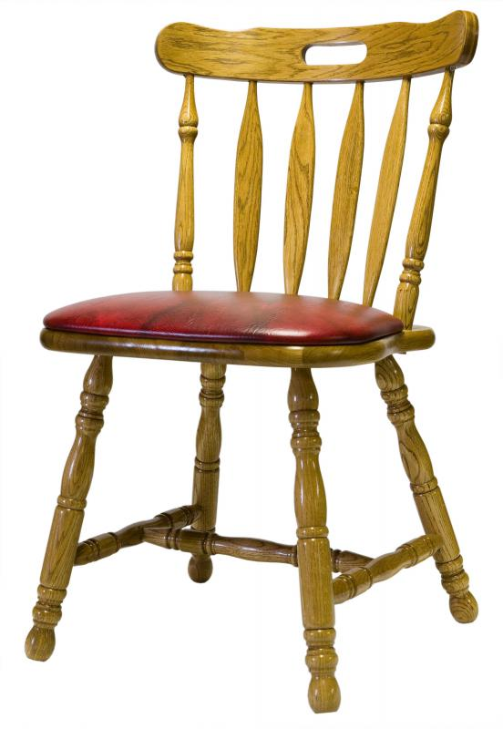 Chairs are one type of furniture a carpenter may build.