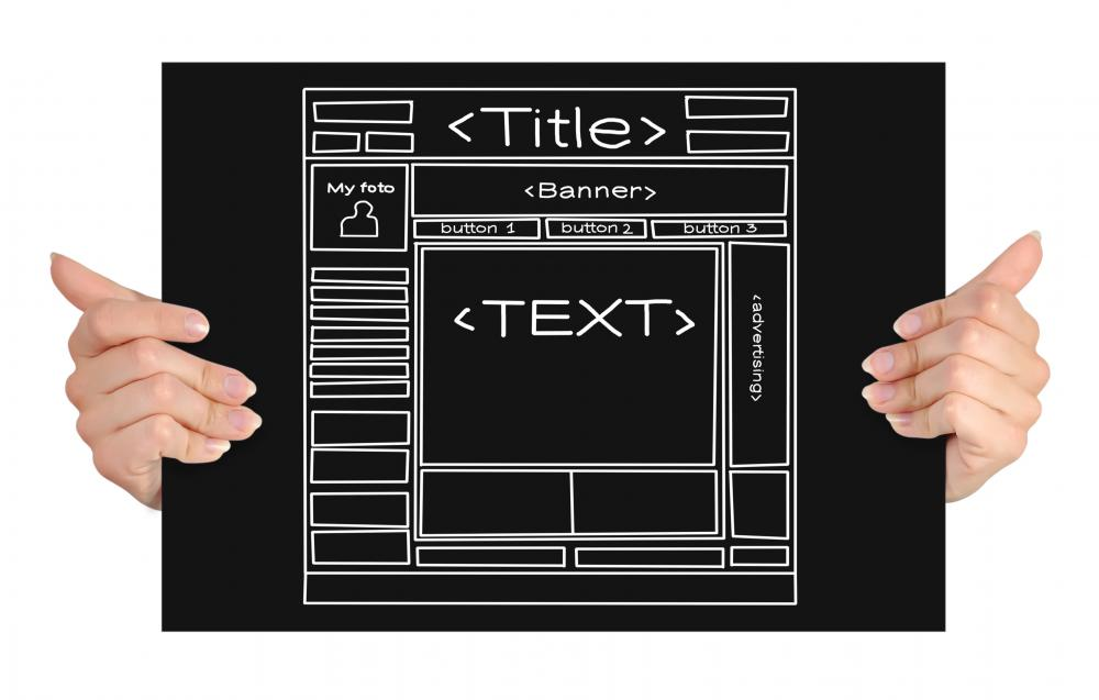 What Are Web Templates? (with Picture