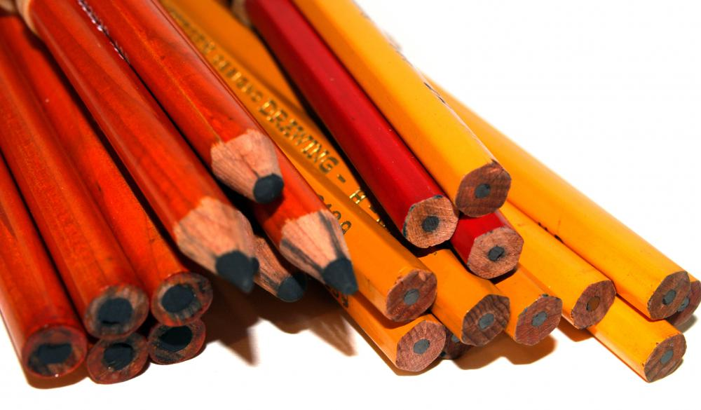 Pencils are usually included on a school supply list.