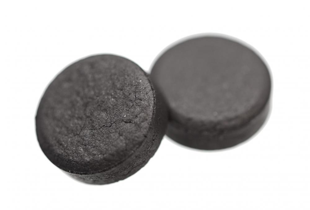 Charcoal tablets for treating aspirin overdose.