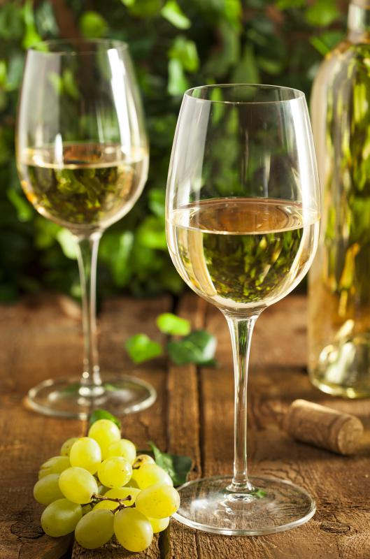 Chardonnay is the predominant wine that's produced in California.