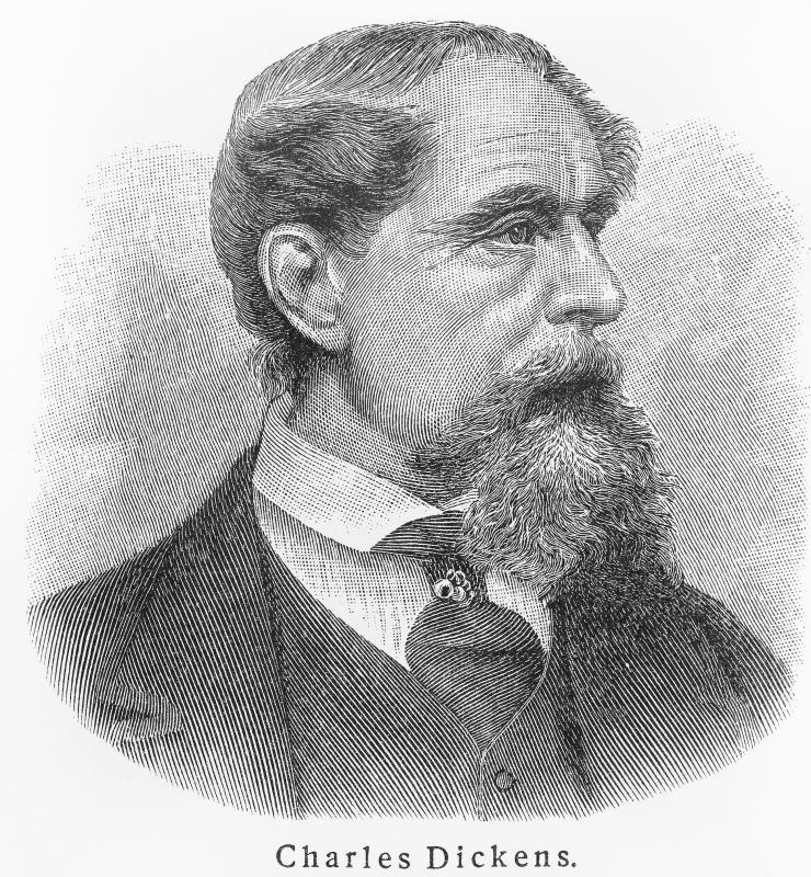 "Writer Charles Dickens was considered ""crazy.""."
