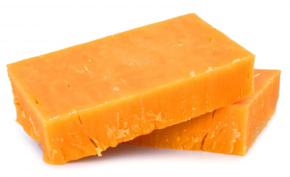 Rennet is used in making various types of cheeses, including cheddar.