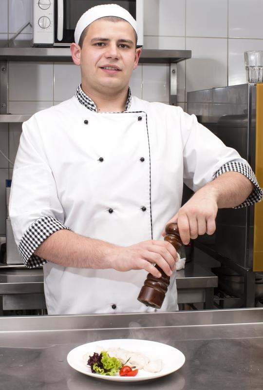 Chefs are considered food service workers.