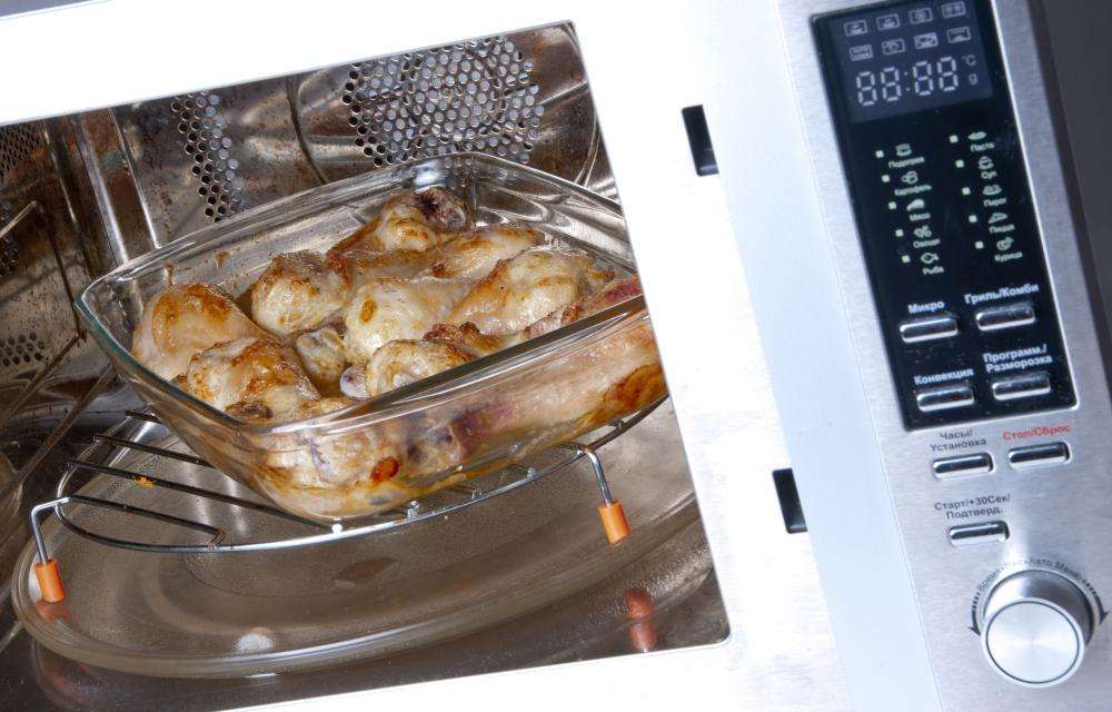 Combination microwave-convection ovens often have pre-calculated settings for certain foods, much like a regular microwave.