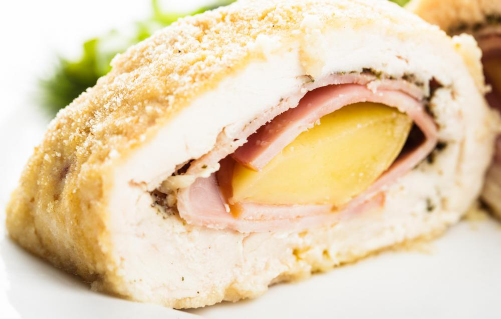 Chicken fillets can be easily manipulated, making fillets a great choice for use in making Chicken Cordon Bleu.