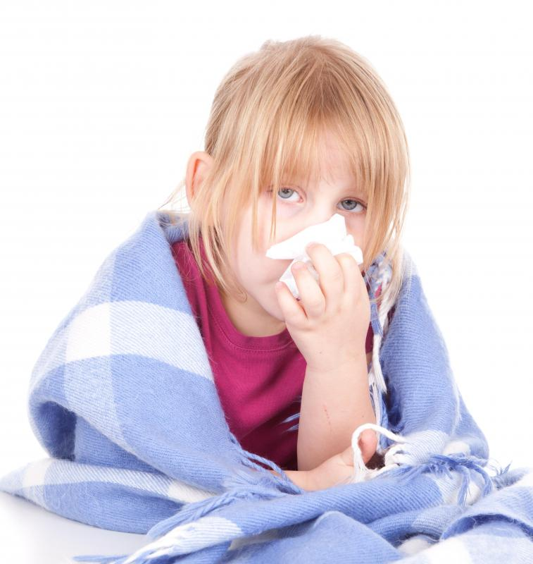 Colds can lead to recurring pneumonia, especially in children.