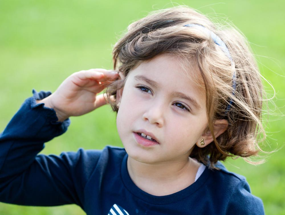 Audiologists may help diagnose hearing problems in children.