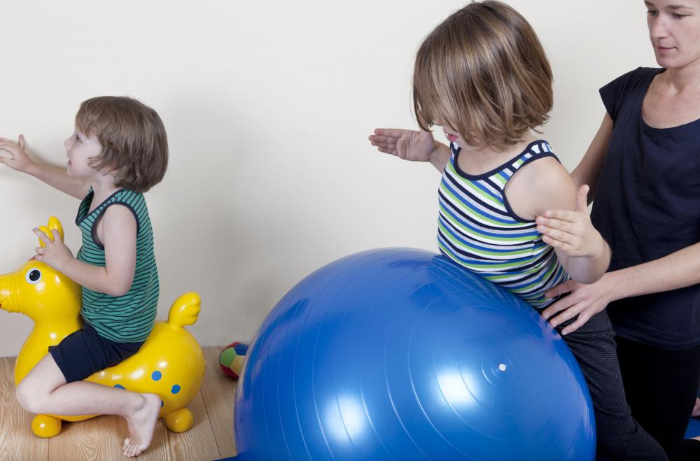 Children on the autism spectrum are believed to benefit from occupational therapy.
