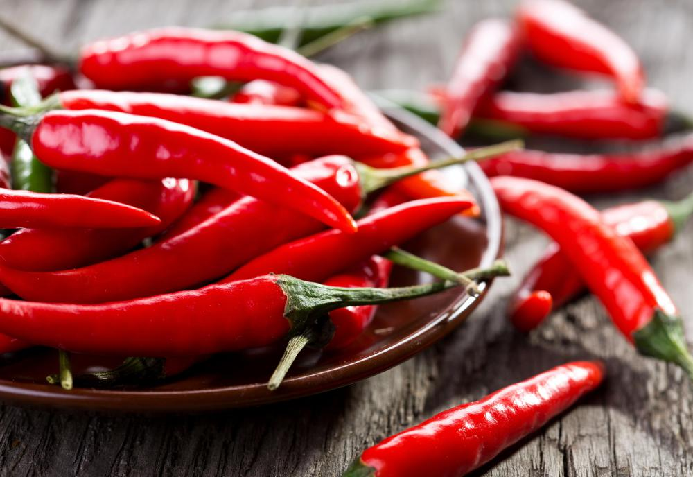 Spicy foods can aggravate inflammation.