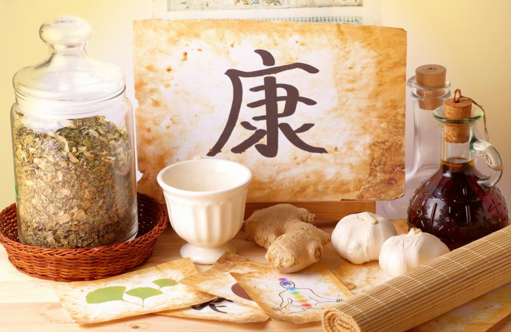 Traditional Chinese Medicine includes the use of herbs to treat a variety of ailments.