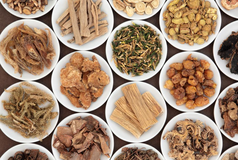 Traditional Chinese Medicine practitioners work to balance qi in the body with Chinese herbs.