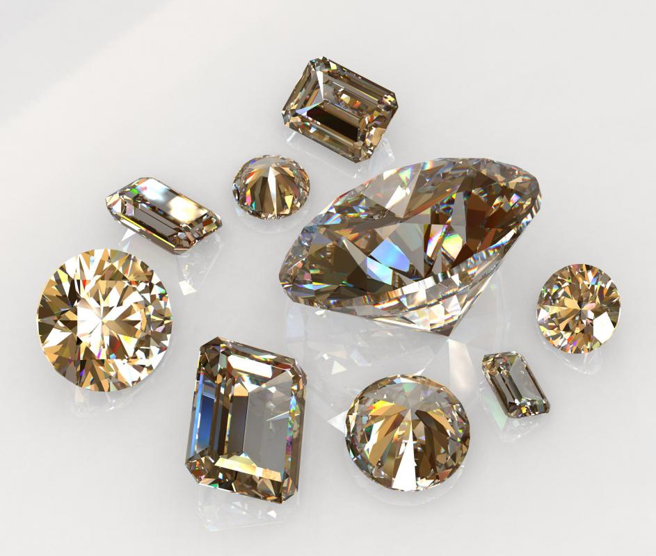 Wholesale chocolate diamonds.