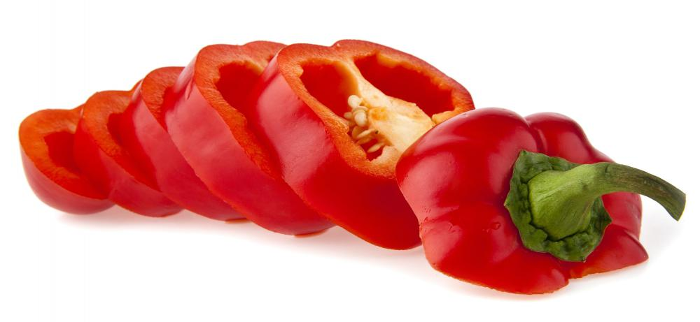 Red peppers may be used as a tomato paste substitute.