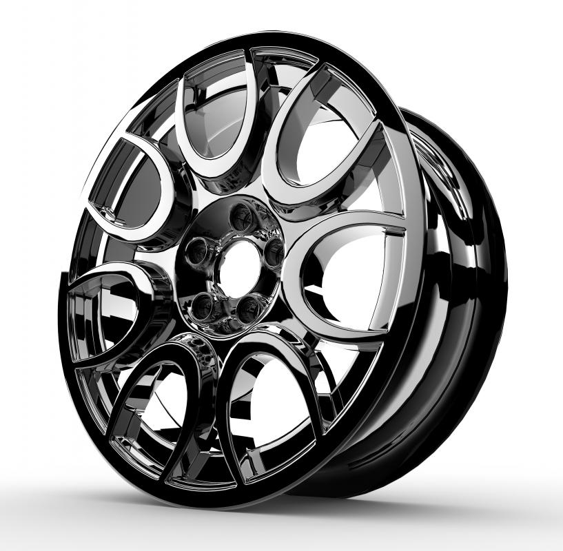 Alloy Wheels Generally Need No Hubcaps
