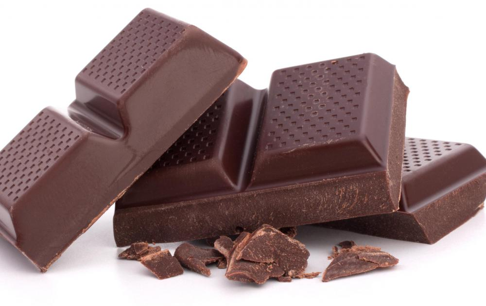 Chocolate is a popular stocking stuffer gift.
