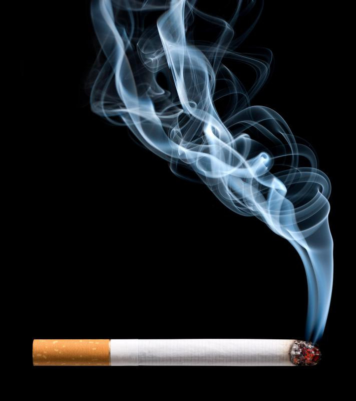 Experts estimate only 15 percent of each cigarette affects the smoker, while the rest of the smoke and toxins are breathed in by the people around the smoker.