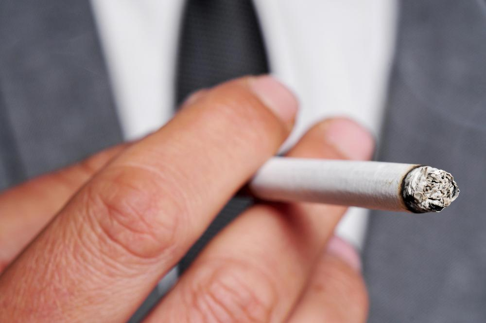 Quitting smoking can cause nicotine withdrawal symptoms.