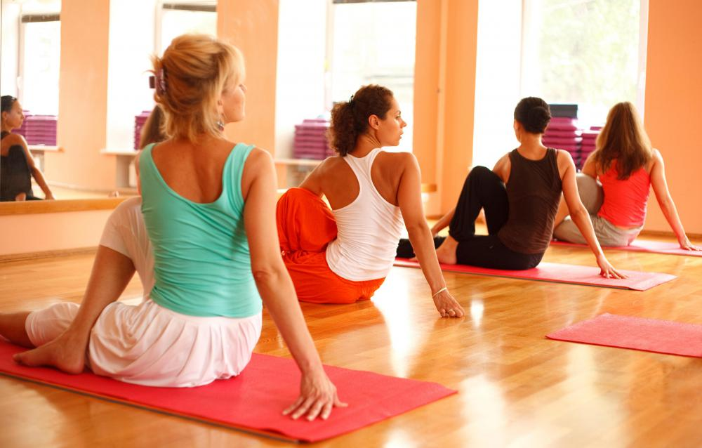 Yoga can help ease stress, which can contribute to hot flashes.