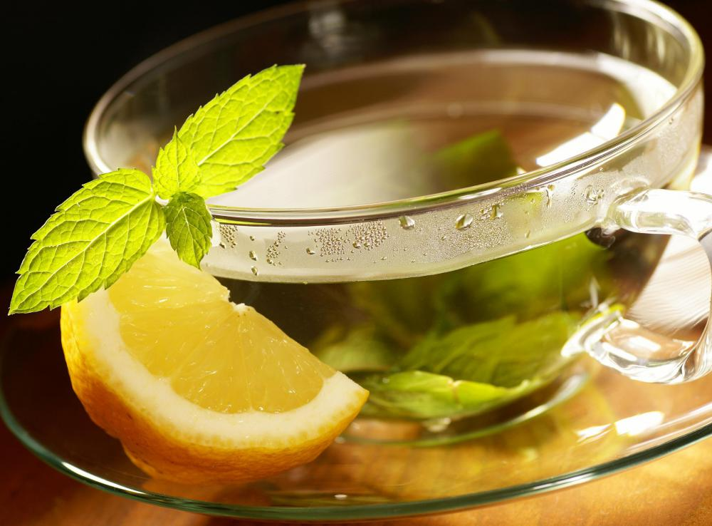 Terpenes is found in mint, and helps reduce indigestion when consumed as a tea.