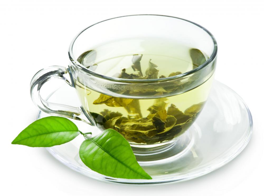 Replace coffee or black tea with green tea.