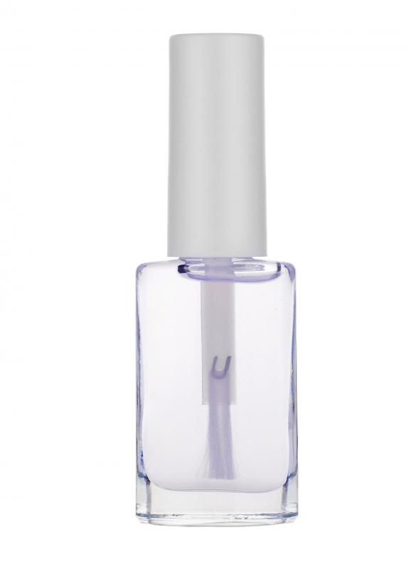Clear nail polish can protect and strengthen fingernails.