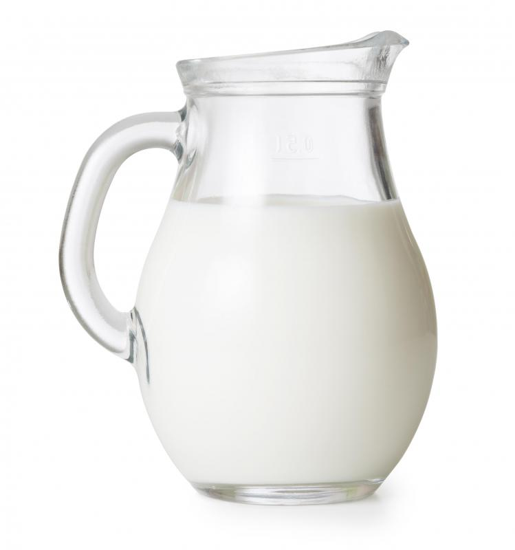 Many different fermented foods come from milk.