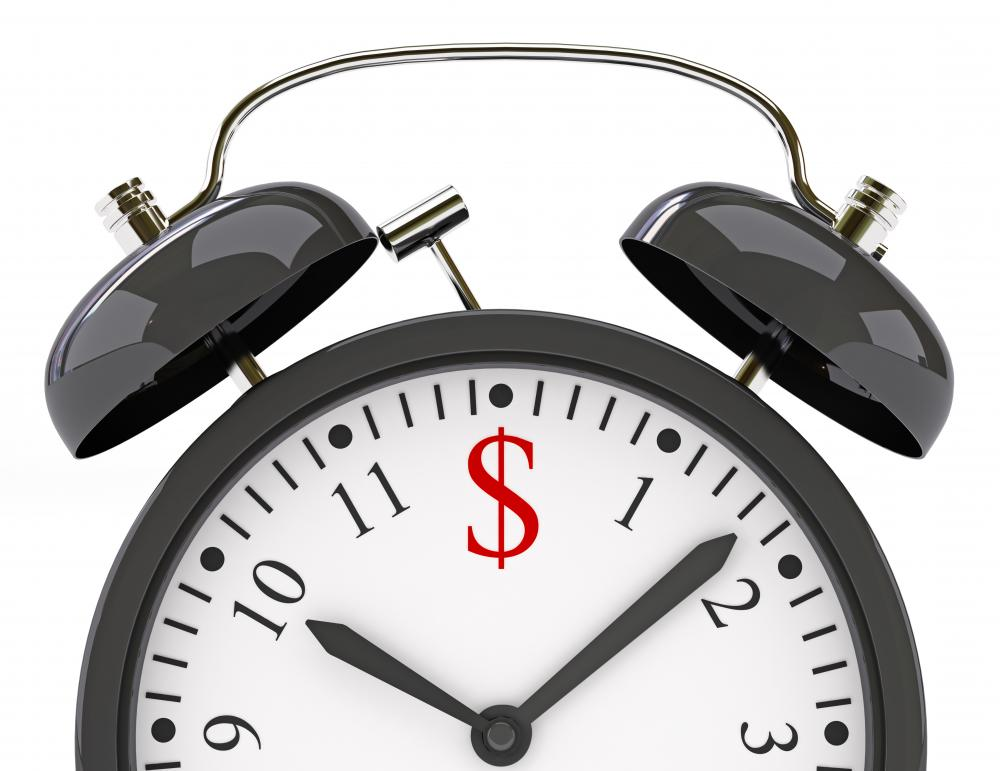 "A visual metaphor composed of a clock with a dollar sign may be used to express the verbal metaphor ""time is money."""