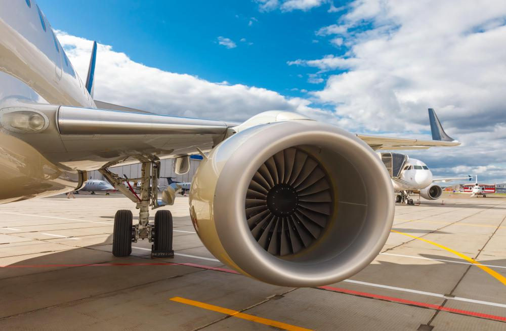Jet engines are built around a turbine core that compresses and ignites an air-fuel mixture.