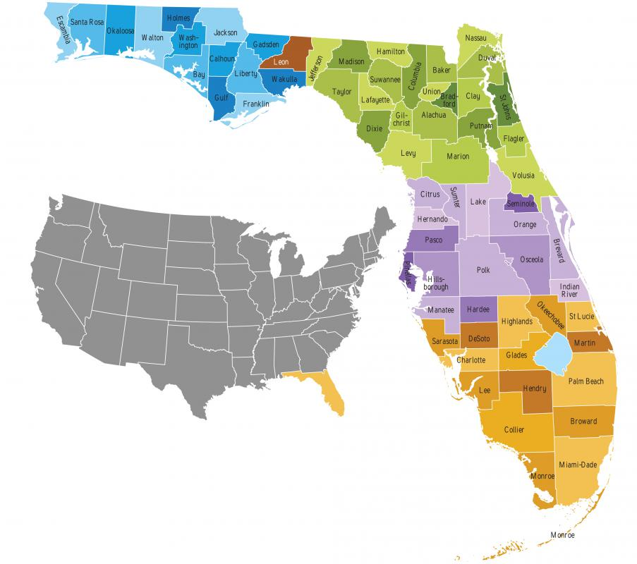 What Is The State Motto Of Florida With Pictures - Where is florida