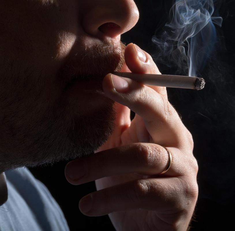 Older smokers have a harder time quitting then younger smokers.
