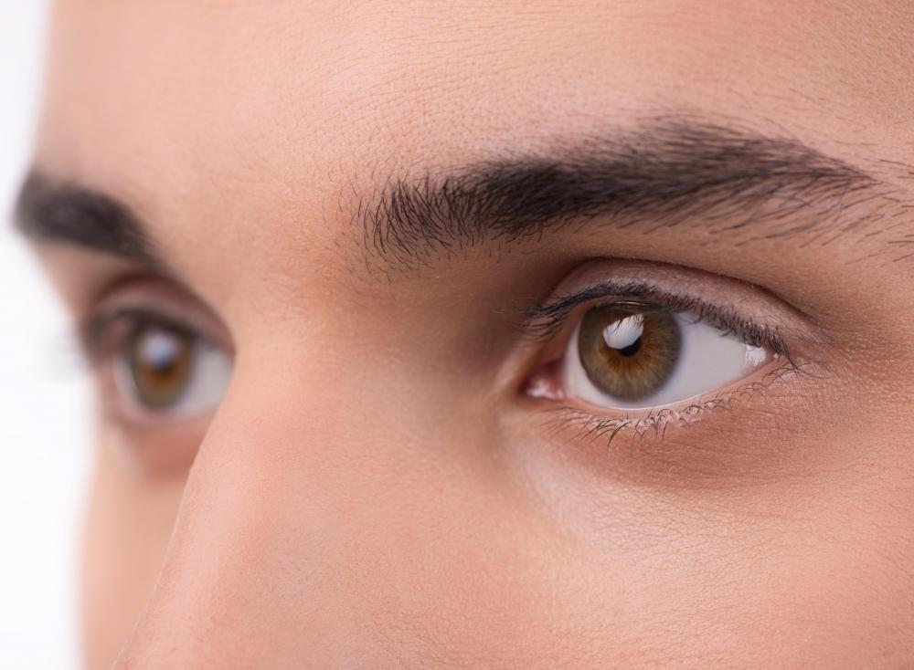 Men may manscape their eyebrows.